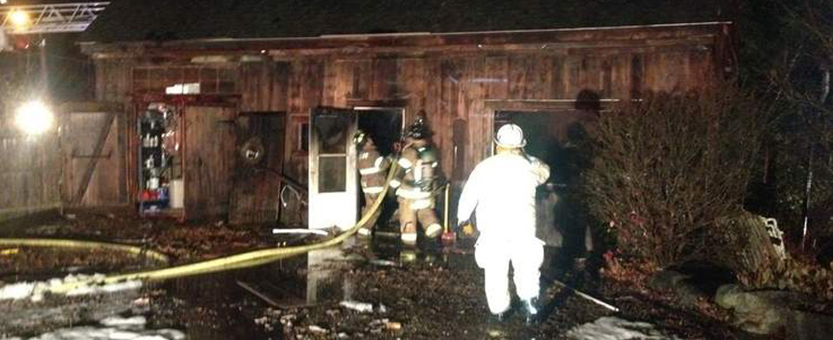 Passing Limo Driver Saves a House After Seeing a Nearby Barn Burn